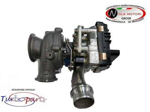 TURBO TURBINA TURBOCOMPRESSORE RIGENERATO PER BMW X1 - MINI ONE D