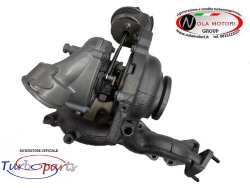 TURBO TURBINA TURBOCOMPRESSORE DODGE, JEEP, MITSUBISHI - 2.0 D, 2.0 DI, 2.0 CRD