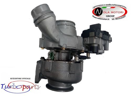TURBO TURBINA TURBOCOMPRESSORE RIGENERATO PER BMW 112D - Cooper One 2.0 D