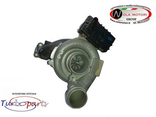 TURBOCOMPRESSORE CON ATTUATORE ELETTRONICO PER CHRYSLER, JEEP, MERCEDES 3.0 CRD