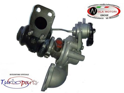 TURBO TURBINA FORD FIESTA FOCUS PEUGEOT 208 207 CITROEN C3 C4 DS3