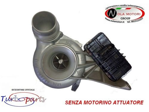 TURBO TURBINA TURBOCOMPRESSORE SENZA ATTUATORE PER BMW 520
