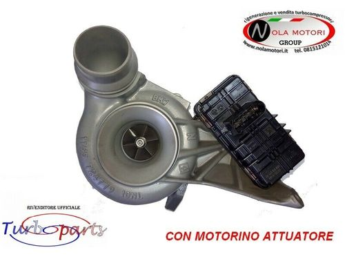 TURBO TURBINA TURBOCOMPRESSORE CON ATTUATORE PER BMW 520
