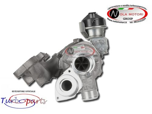 TURBO TURBINA TURBOCOMPRESSORE AUDI-SEAT-VW 2.0 TDI