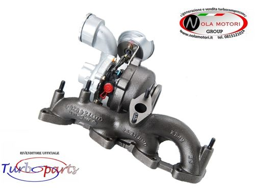 TURBO TURBINA TURBOCOMPRESSORE AUDI A3 GOLF V SEAT LEON ALTEA 2.0TDI 140CV