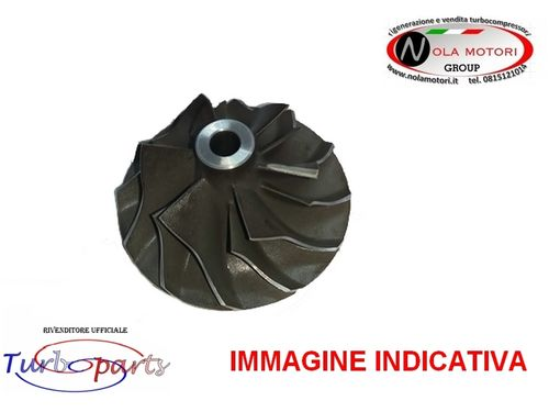 RUOTA GIRANTE TURBOCOMPRESSORE NUOVO PER MINI - YARIS 1.4 D4D
